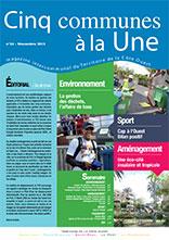 Cinq communes à la Une | Numéro 34 Novembre 2013